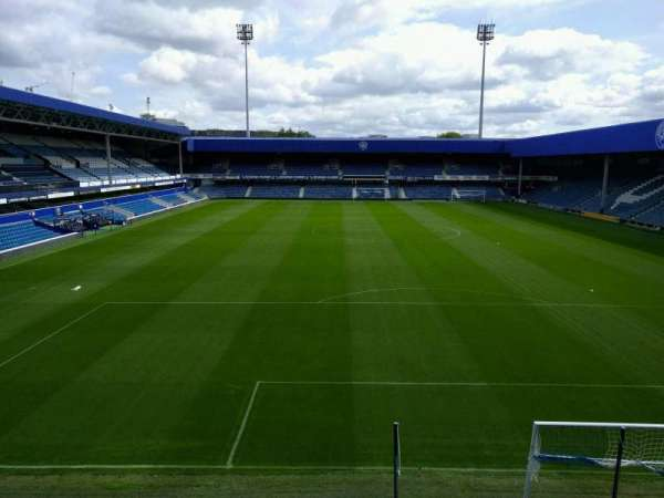 Loftus Road, secção: away, fila: f, lugar: 144