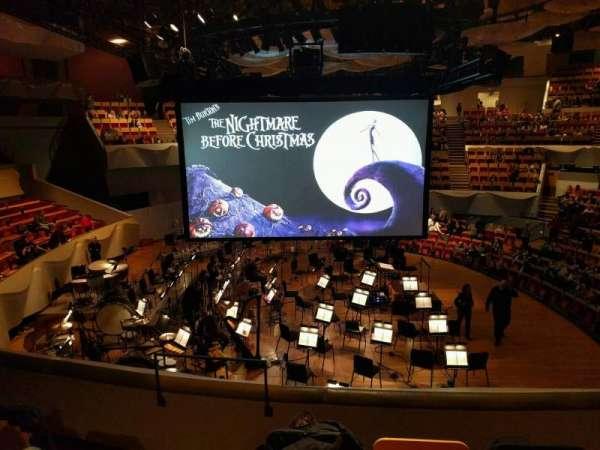 Boettcher Concert Hall, secção: Dress Circle 2, fila: i, lugar: 11