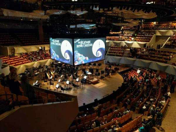 Boettcher Concert Hall, secção: Mezzanine 6, fila: k, lugar: 63