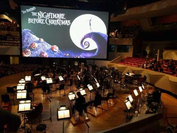 Boettcher Concert Hall, secção: Dress Circle 1, fila: c, lugar: 10