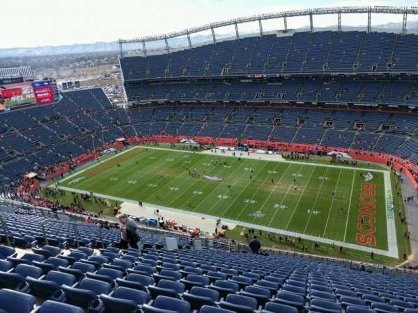 Empower Field at Mile High Stadium, secção: 530, fila: 26, lugar: 17