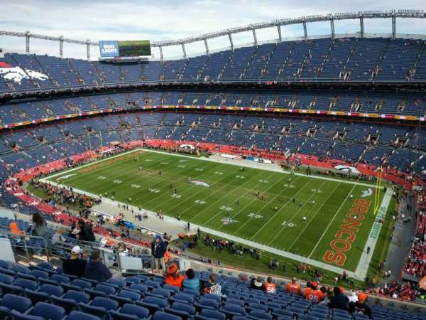 Empower Field at Mile High Stadium, secção: 503, fila: 16, lugar: 10