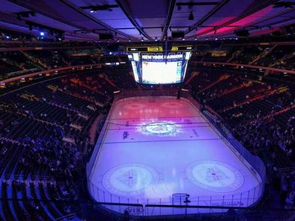 Madison Square Garden, secção: 304, fila: 2, lugar: 13
