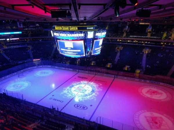 Madison Square Garden, secção: 314, fila: 1, lugar: 21