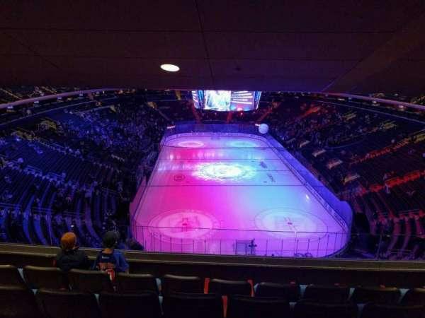 Madison Square Garden, secção: 416, fila: 5, lugar: 11