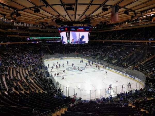 Madison Square Garden, secção: 216, fila: 3, lugar: 13