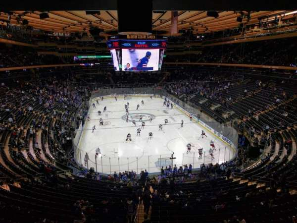 Madison Square Garden, secção: 217, fila: wc, lugar: 2