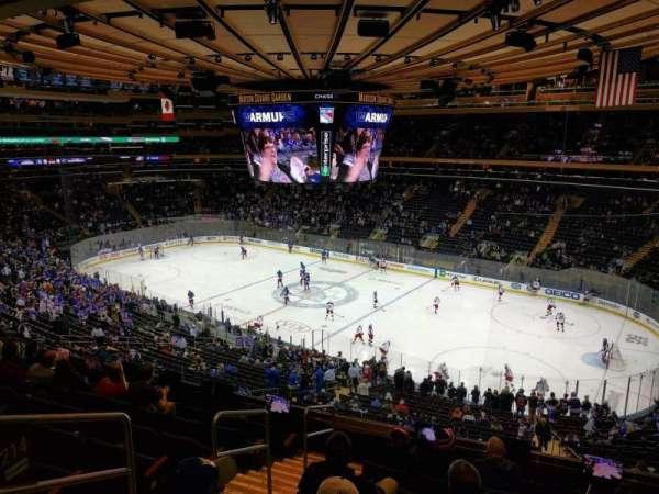 Madison Square Garden, secção: 214, fila: 8, lugar: 1