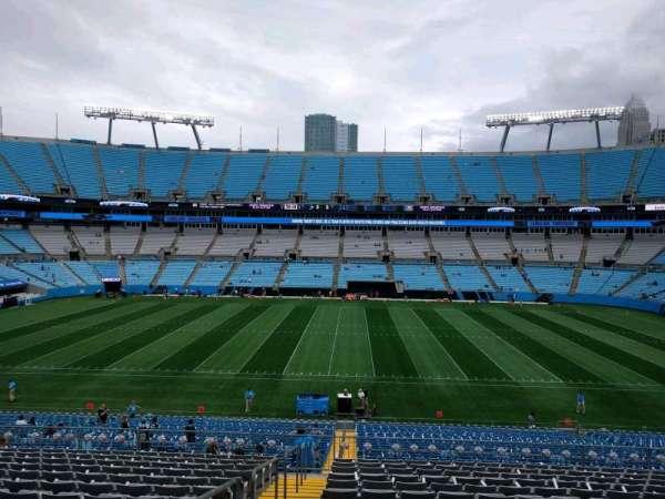 Bank of America Stadium, secção: 343, fila: 15, lugar: 22