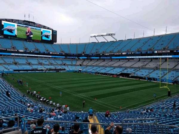 Bank of America Stadium, secção: 336, fila: 6, lugar: 5
