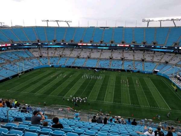 Bank of America Stadium, secção: 513, fila: 16, lugar: 16