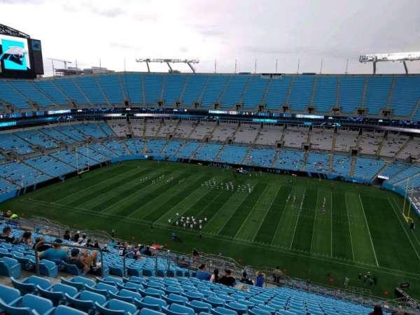 Bank of America Stadium, secção: 512, fila: 21, lugar: 17