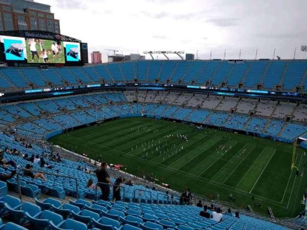 Bank of America Stadium, secção: 510, fila: 29, lugar: 21
