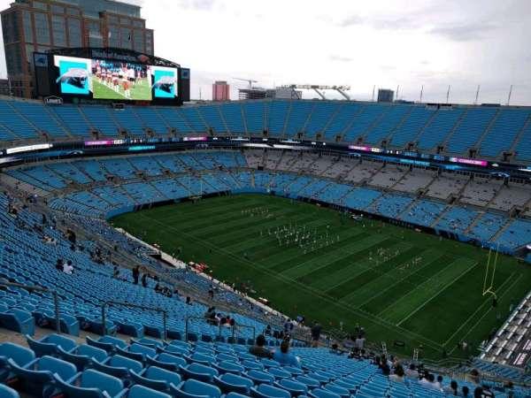 Bank of America Stadium, secção: 509, fila: 31, lugar: 19
