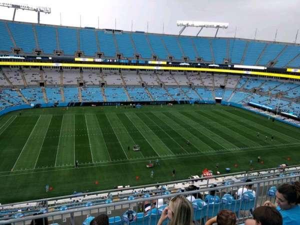 Bank of America Stadium, secção: 517, fila: 3, lugar: 14
