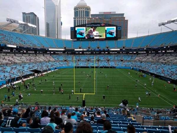 Bank of America Stadium, secção: 201, fila: 14, lugar: 9