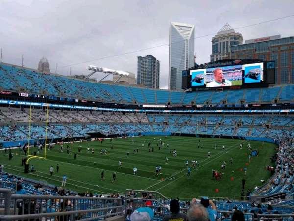 Bank of America Stadium, secção: 253, fila: 7, lugar: 12
