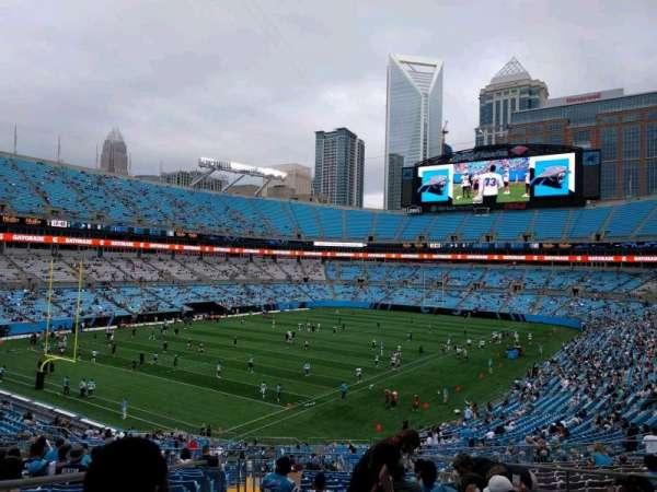 Bank of America Stadium, secção: 252, fila: 16, lugar: 7