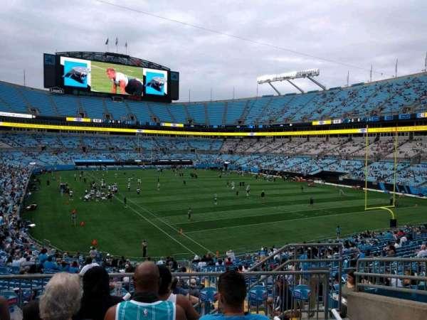 Bank of America Stadium, secção: 233, fila: 5, lugar: 10