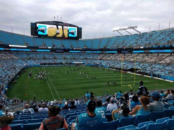 Bank of America Stadium, secção: 232, fila: 16, lugar: 9
