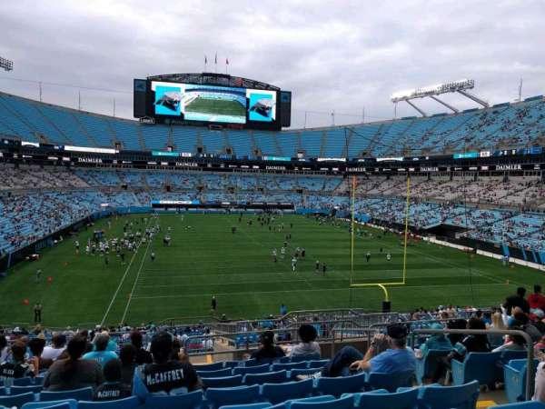 Bank of America Stadium, secção: 231, fila: 14, lugar: 5