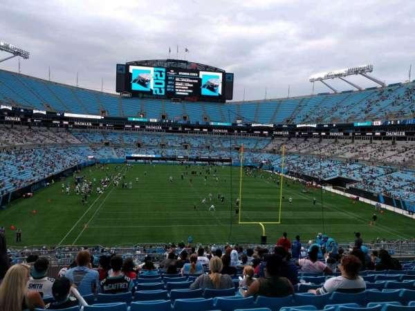 Bank of America Stadium, secção: 230, fila: 18, lugar: 21