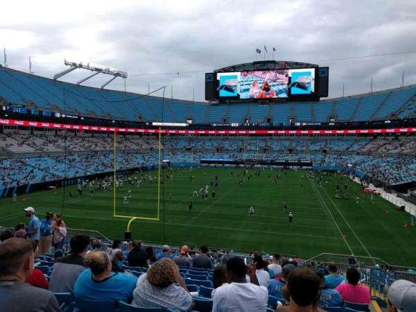 Bank of America Stadium, secção: 228, fila: 10, lugar: 7