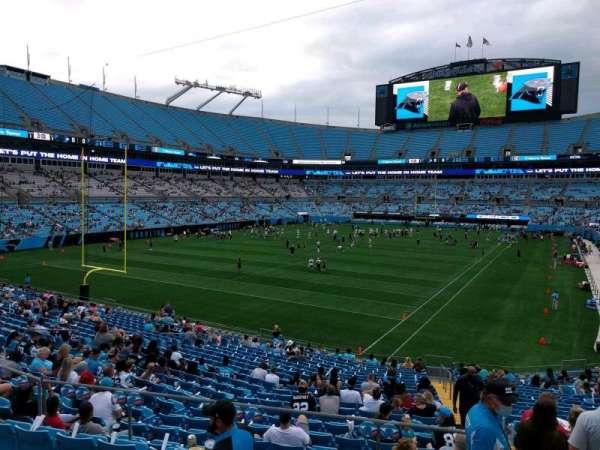 Bank of America Stadium, secção: 226, fila: 2, lugar: 7
