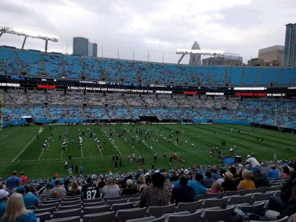Bank of America Stadium, secção: 346, fila: 18, lugar: 16