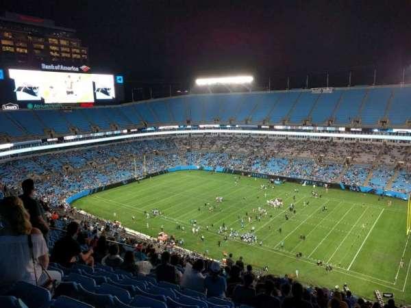 Bank of America Stadium, secção: 510, fila: 26, lugar: 17