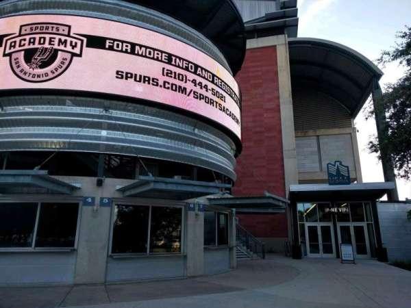 AT&T Center, secção: VIP Gate