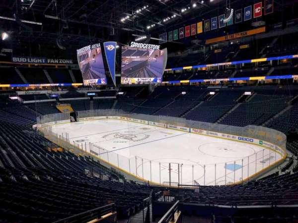Bridgestone Arena, secção: suite 19, fila: 2, lugar: 4