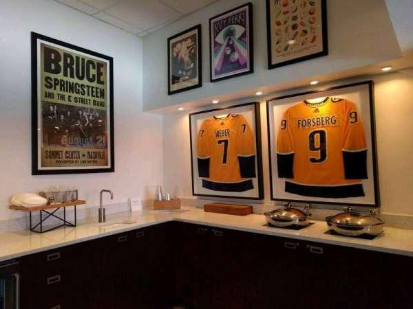 Bridgestone Arena, secção: suite 18