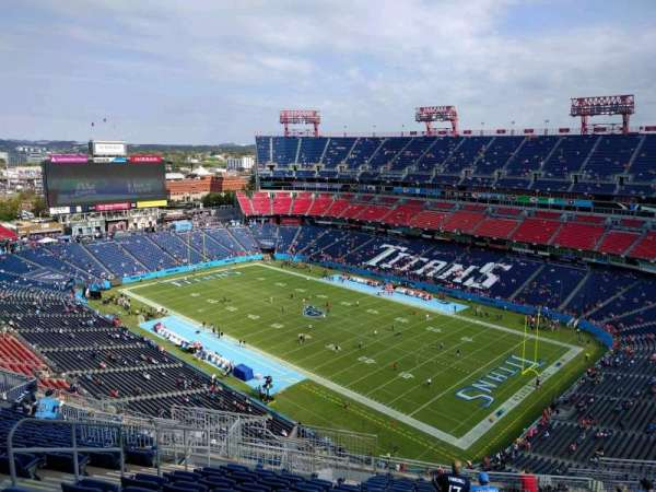 Nissan Stadium, secção: 328, fila: v, lugar: 16
