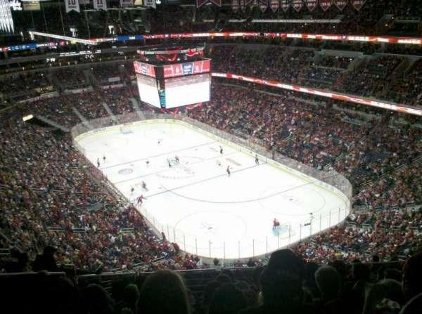 Capital One Arena, secção: 406, fila: M, lugar: 9
