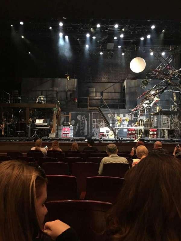 Walt Disney Theatre - Dr. Phillips Center, secção: Orch Center, fila: D, lugar: 107