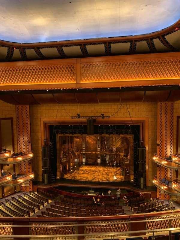 Walt Disney Theatre - Dr. Phillips Center, secção: Balcony Center, fila: E, lugar: 121