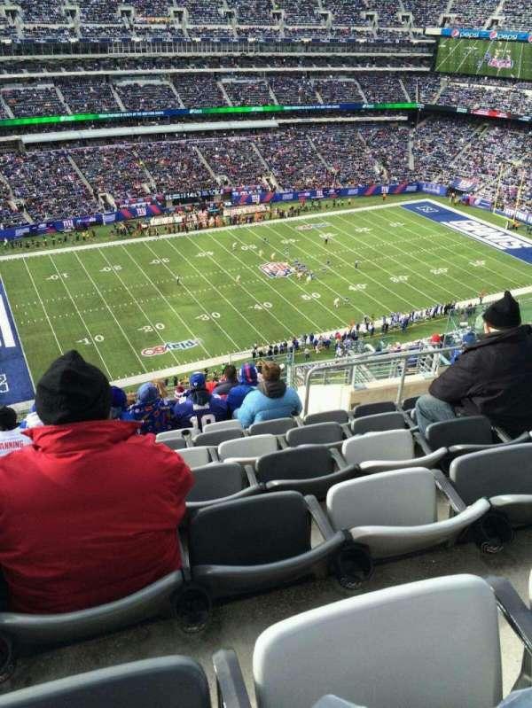MetLife Stadium, secção: 316, fila: 17, lugar: 10