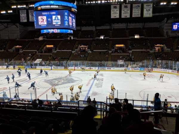 UW-Milwaukee Panther Arena, secção: 306, fila: 6, lugar: 12