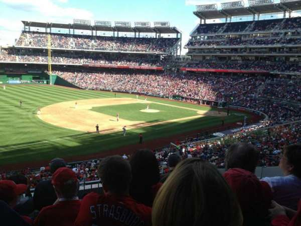 Nationals Park, secção: 205, fila: E, lugar: 5