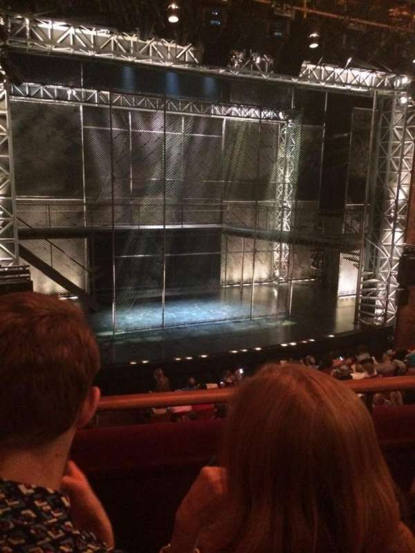 August Wilson Theatre, secção: Mezzanine L, fila: B, lugar: 7