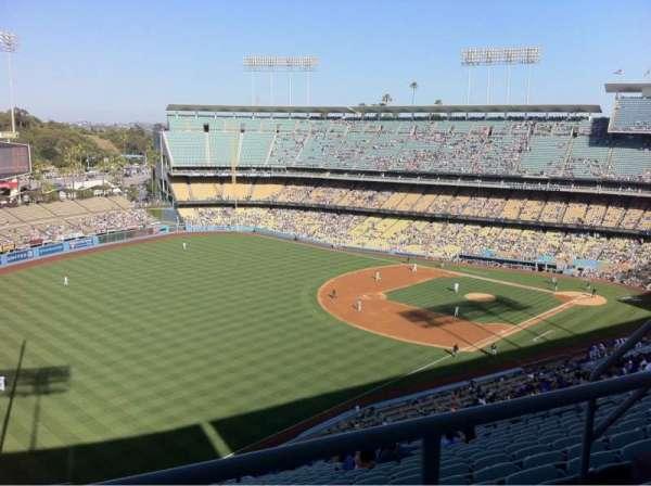 Dodger Stadium, secção: 45rs, fila: Bb, lugar: 7