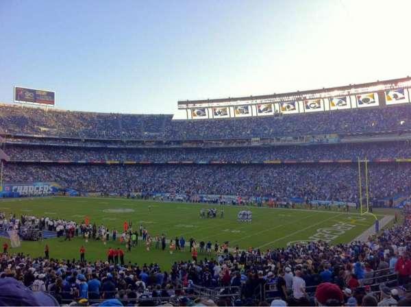 San Diego Stadium, secção: P13, fila: 16, lugar: 6
