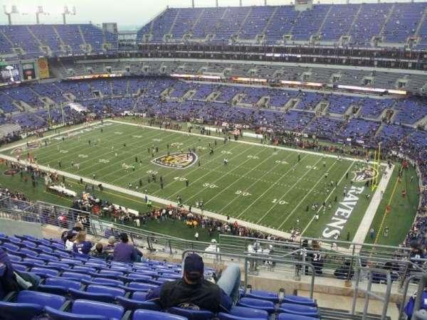 M&T Bank Stadium, secção: 549, fila: 15, lugar: 1