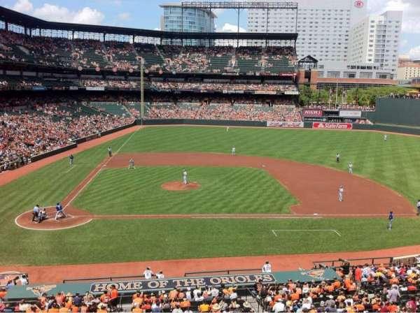 Oriole Park at Camden Yards, secção: 226, fila: 1, lugar: 2