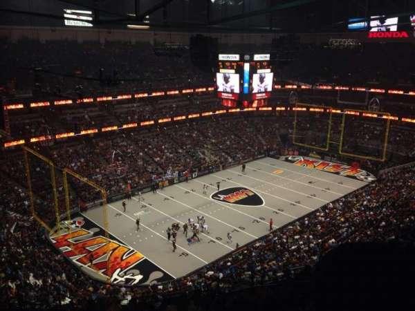 Honda Center, secção: 439, fila: S, lugar: 7