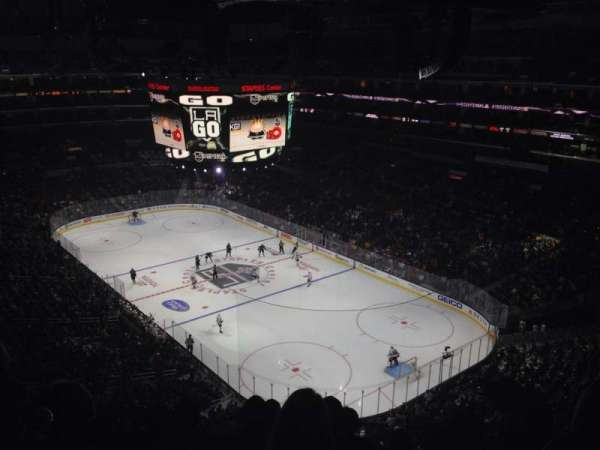 Staples Center, secção: 330, fila: 6, lugar: 6