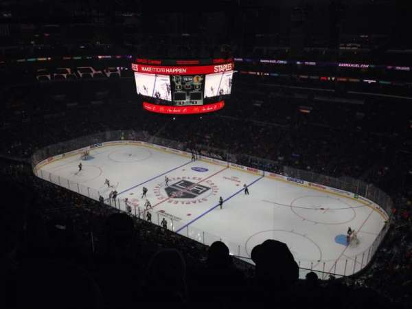 Staples Center, secção: 315, fila: 9, lugar: 8