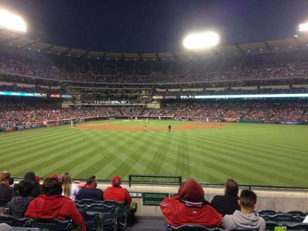 Angel Stadium, secção: P239, fila: H, lugar: 1