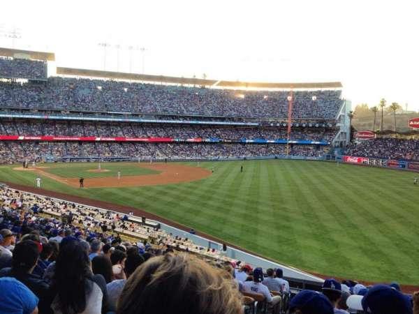 Dodger Stadium, secção: 162LG, fila: N, lugar: 2